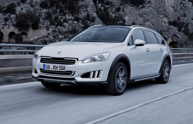 Peugeot 508 RXH für Geschäftskunden
