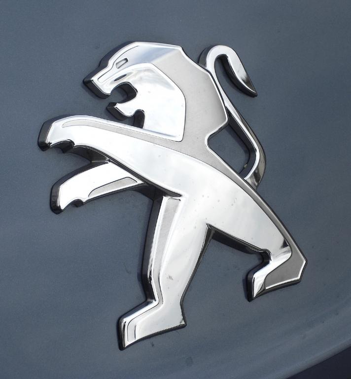 Peugeot RCZ: Der Markenlöwe sitzt vorn zwischen Motorhaube und Kühlergrill.