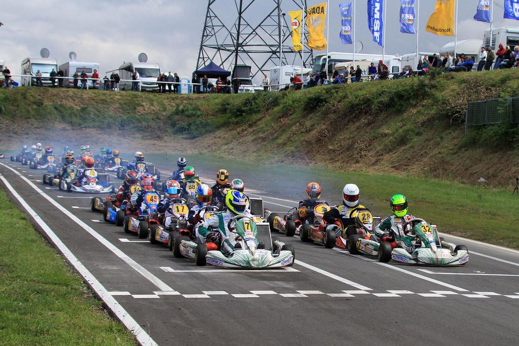 Ralf Schumacher Schirmherr bei ADAC Kart Masters 2013
