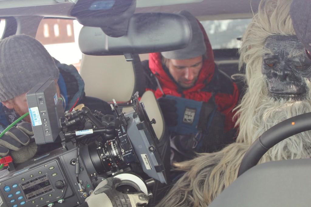 Range Rover Evoque trifft auf Yeti