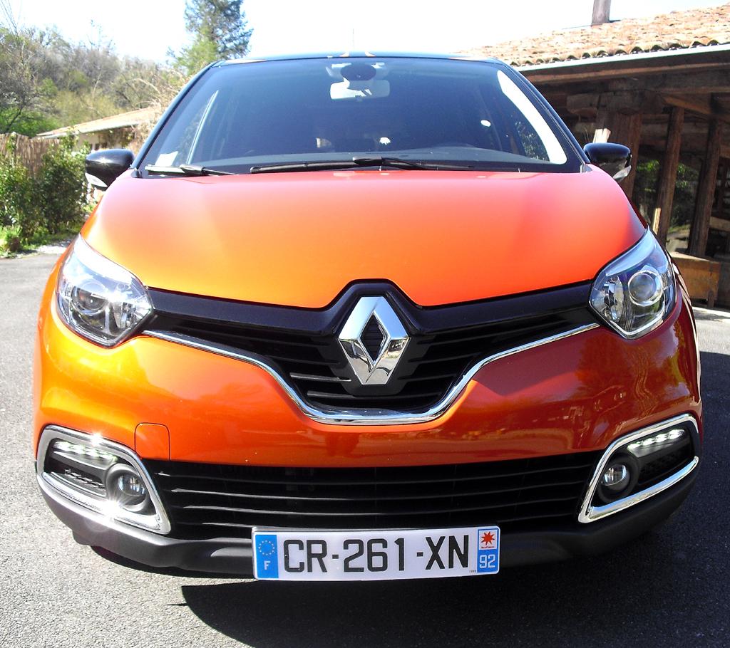 Renault Captur: Blick auf die Frontpartie.
