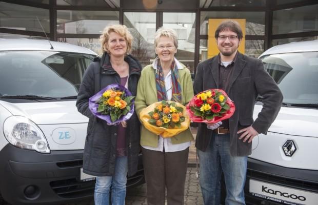 Renault stiftet 17 Elektrofahrzeuge