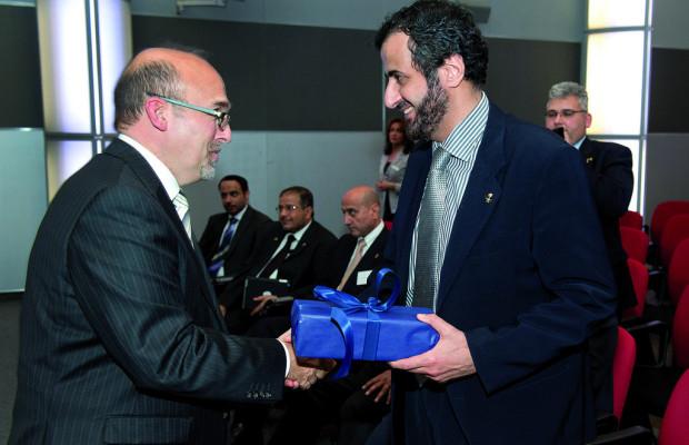 Saudischer Minister besucht VW-Werk