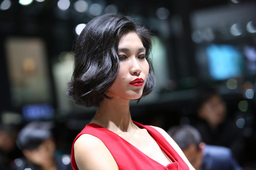 Schönheiten in Shanghai