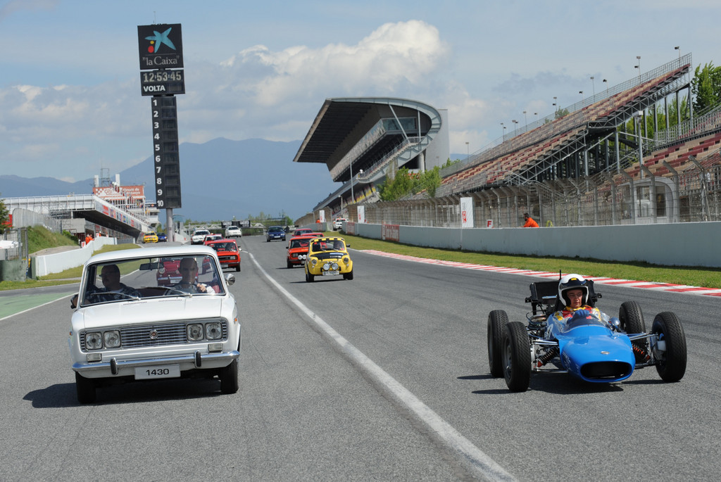 Seat am Circuit de Catalunia