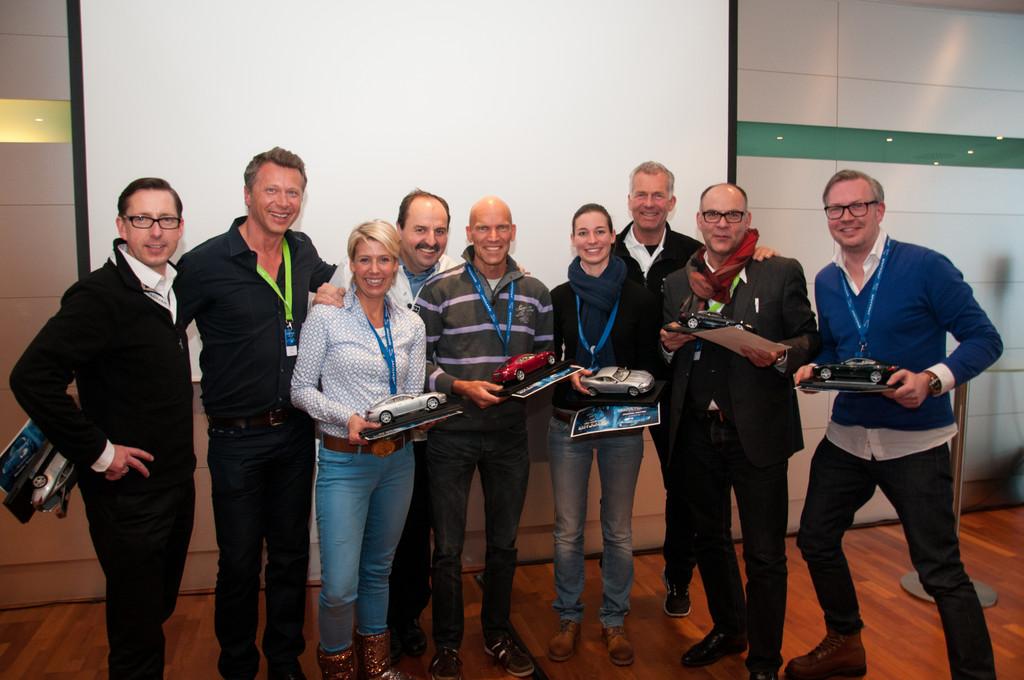 Sechs Gewinner sind mit Jaguar in Malaysia