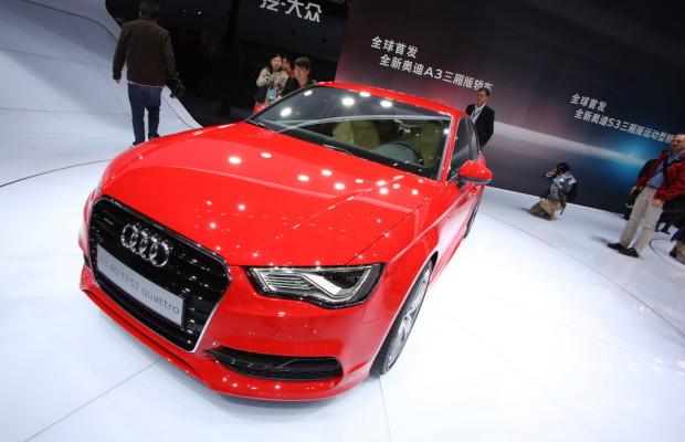 Shanghai 2013: Audi A3 erstmals als Limousine