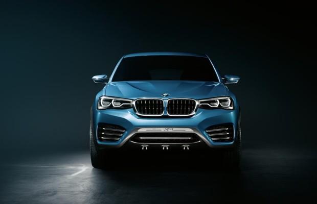 Shanghai 2013: BMW Concept X4 - Mit drei, gespielt vier