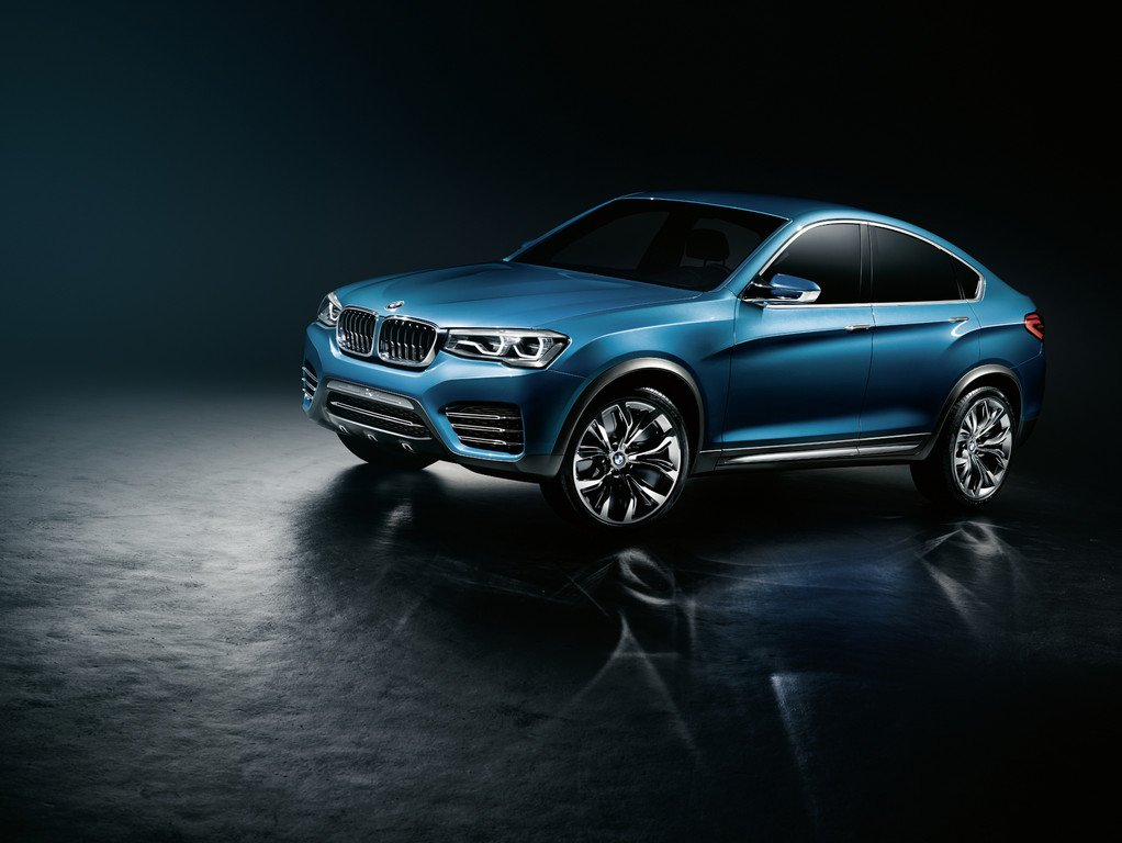 Shanghai 2013: BMW X4 geht 2014 in Serie