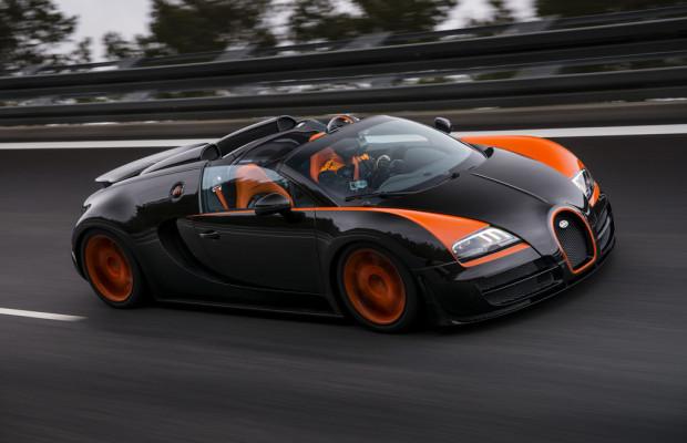 Shanghai 2013: Bugatti zeigt Weltrekord-Veyron