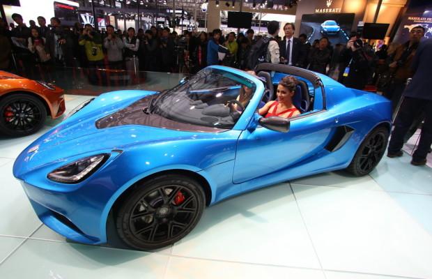 Shanghai 2013: Der zweitschnellste Elektro-Sportwagen