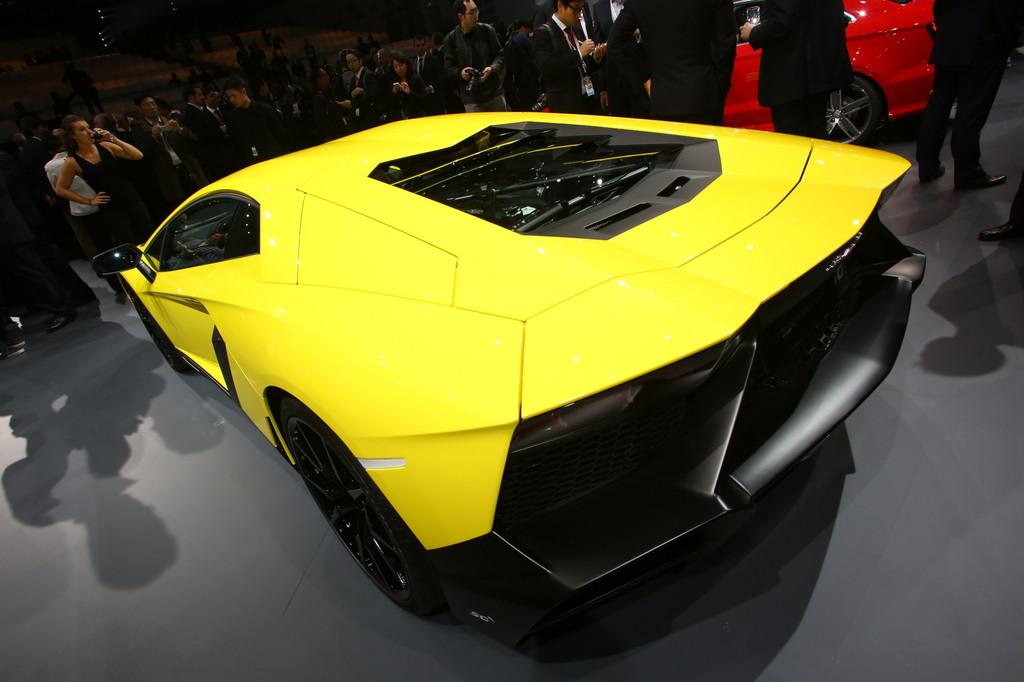 Shanghai 2013: Jubiläums-Lamborghini auf 100 Stück limitiert