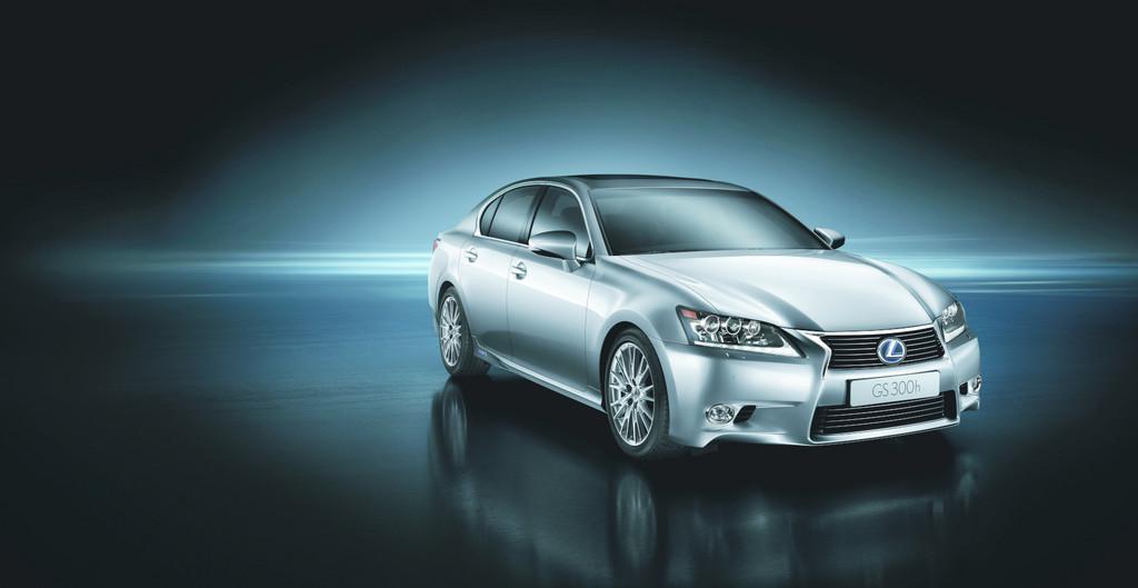 Shanghai 2013: Lexus präsentiert GS 300h