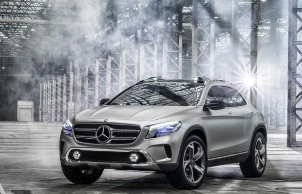 Shanghai 2013: Mercedes GLA Concept - Die A-Klasse fürs Gelände