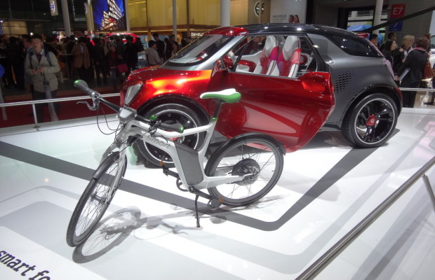 Shanghai 2013: Smart Electric Drive für China