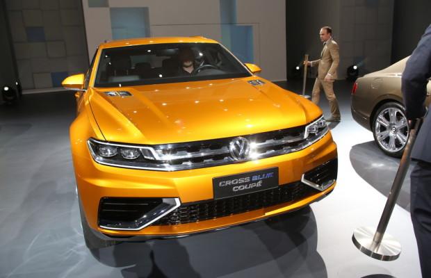 Shanghai 2013: Volkswagen zeigt Plug-in-Studie Cross Blue