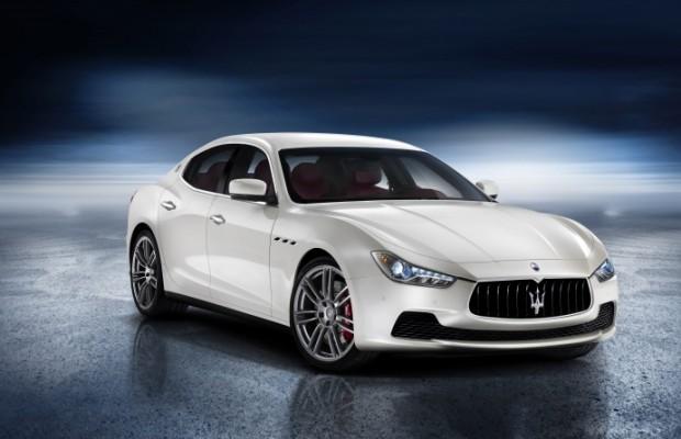 Shanghai Motor Show: Erste Bilder vom Maserati Ghibli schon jetzt
