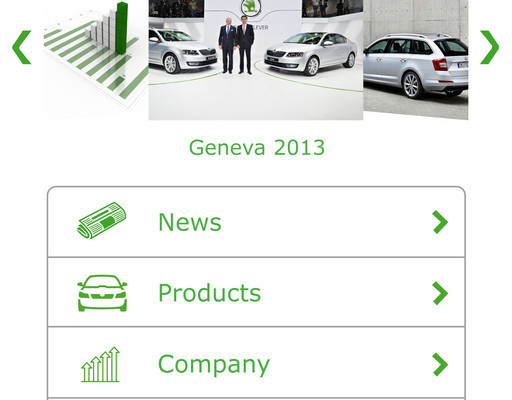 Skoda überarbeitet Medien-App