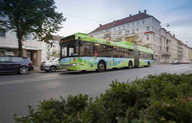 Solaris liefert 42 Hybridbusse nach Hannover