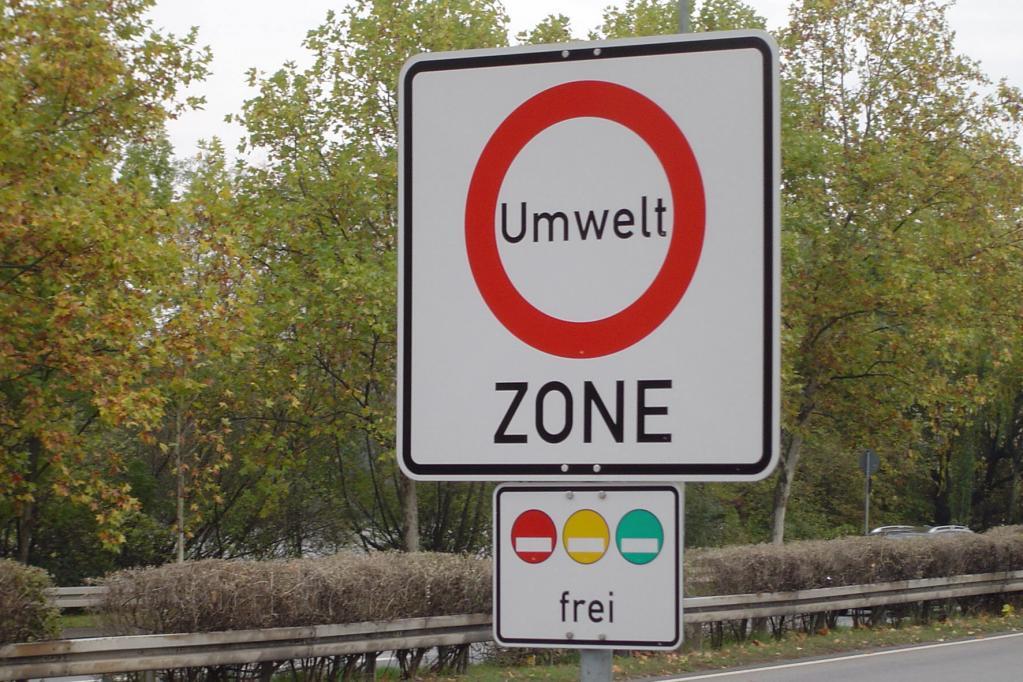 Städtische Umweltzonen - Viel Staub, wenig Kontrolle