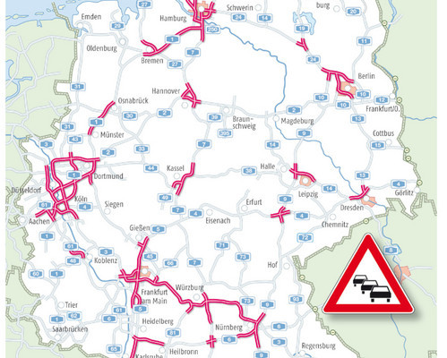 Stauprognose: Jetzt kommt die Oster-Rück-Reisewelle