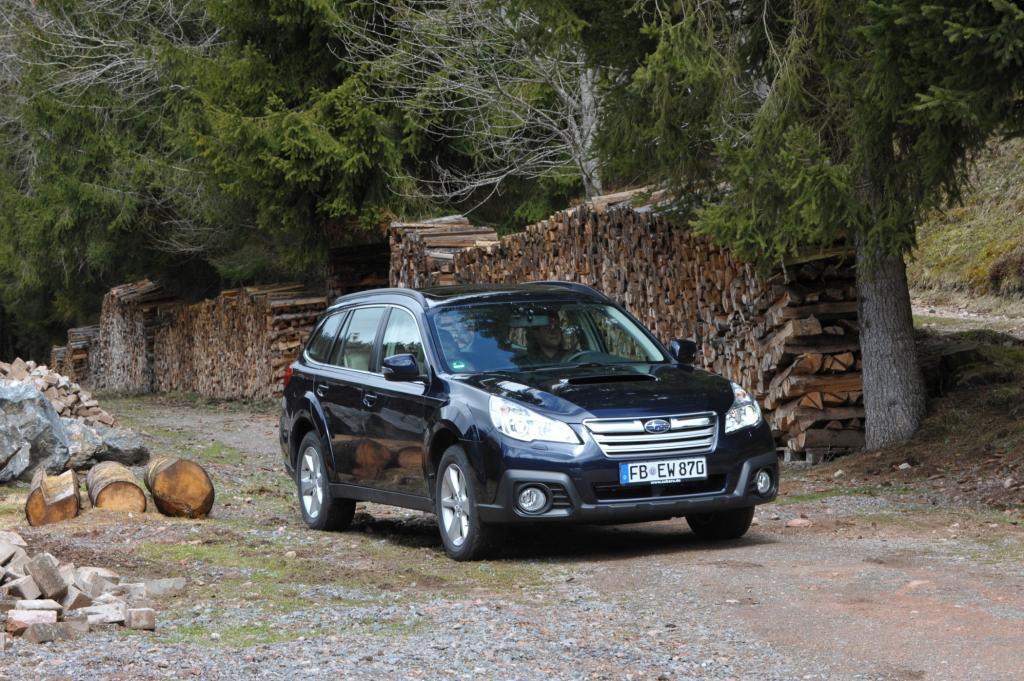 Subaru Outback - Und Sie hören: nichts