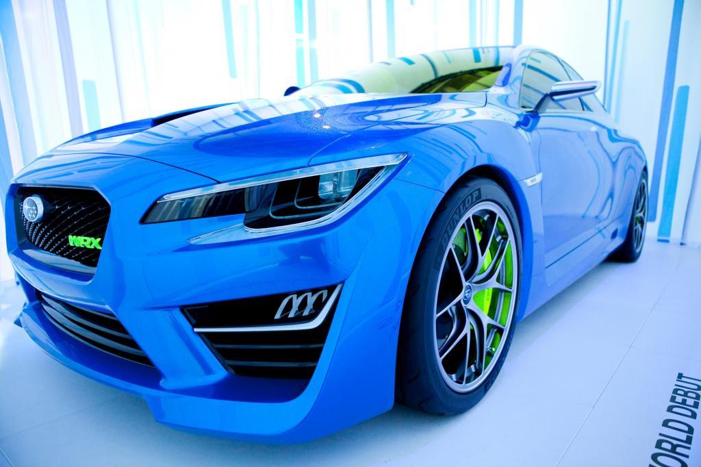 Subaru WRX Concept - Dicke Backen und große Hutze