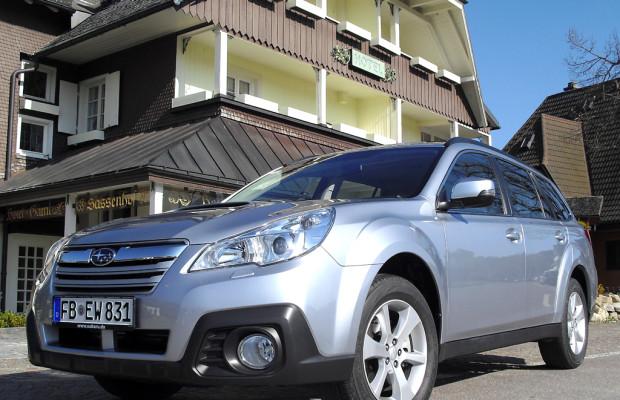 Subaru kombiniert bei Outback erstmals Boxerdiesel mit stufenloser Automatik
