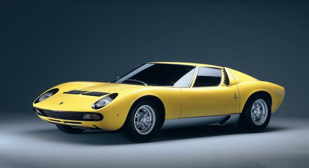 Techno Classica 2013: Lamborghini feiert den Fünfzigsten