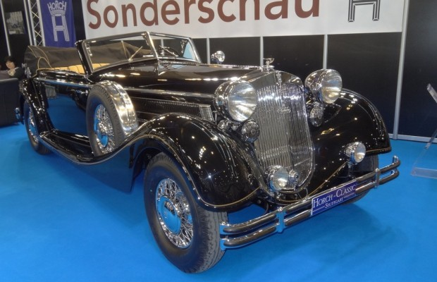 Techno Classica 2013: Volles Haus in Essen