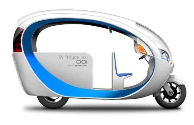 Terra Motors E-Tricycle - Das Tuk-Tuk der Zukunft