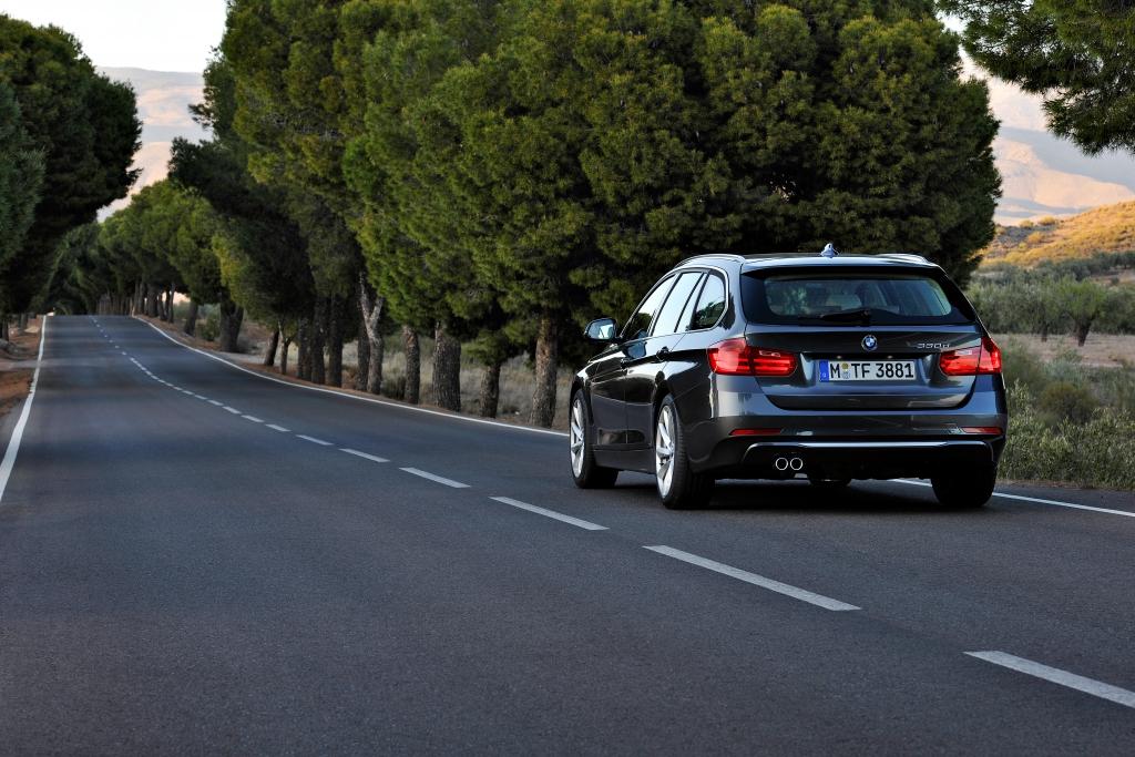 Test BMW 330d Touring - Kombi plus Sportwagen gleich Transportsport