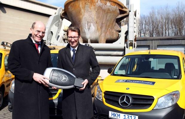 Thyssen Krupp setzt auf Mercedes-Benz Citan