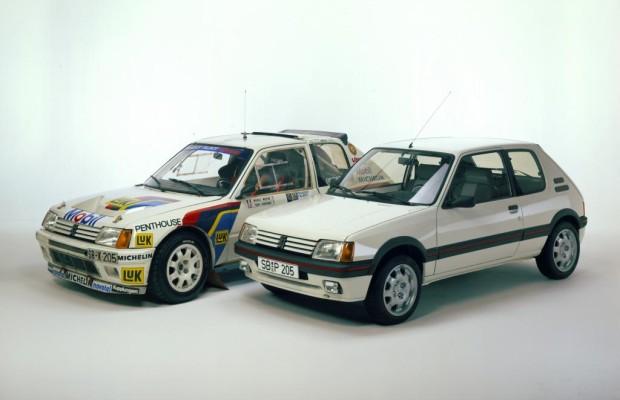 Tradition: 30 Jahre Peugeot 205 GTI und Turbo 16 - Kleine Kurvenräuber und große Flügelstürmer