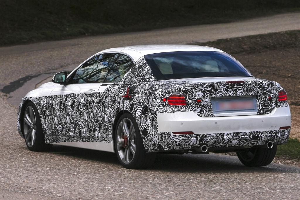 Update: Erwischt: Erlkönig BMW 4er Cabrio – Hoch gestuft und aufgemacht