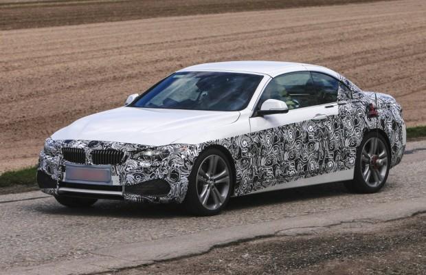 Update: Erwischt: Erlkönig BMW 4er – Cabrio lässt Wintertarnung fallen