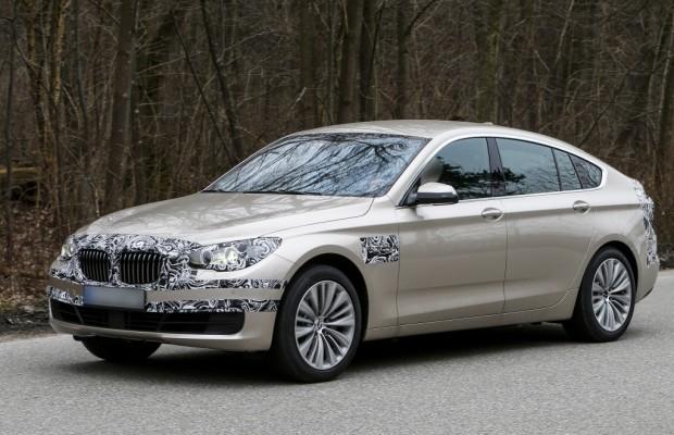 Update: Erwischt: Erlkönig BMW 5er GT – Retusche am Raumschiff