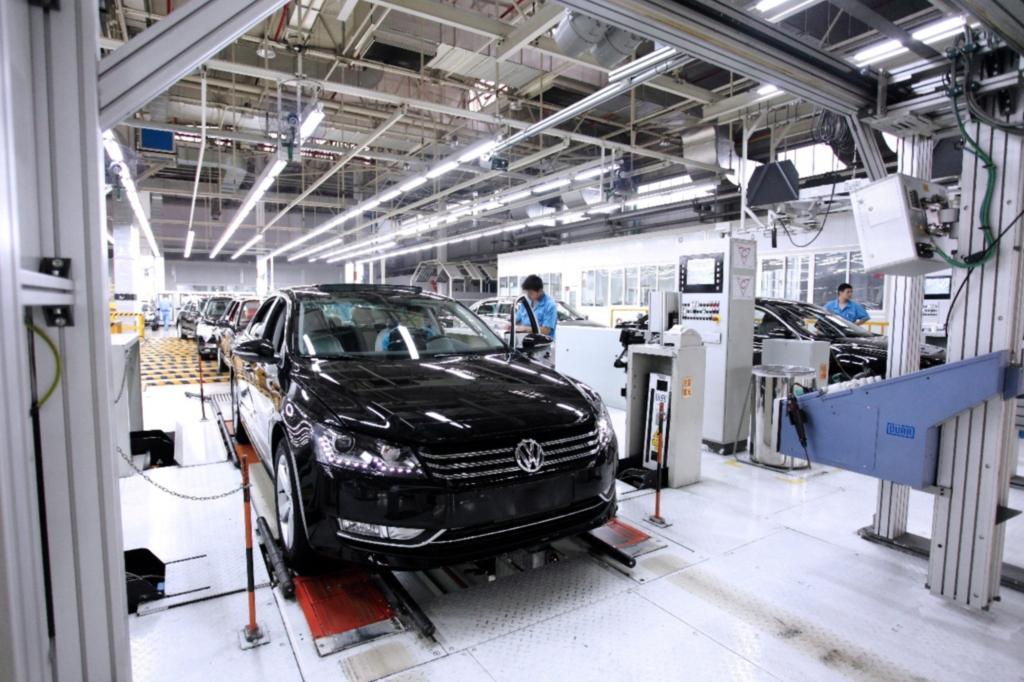 Volkswagen baut seine Produktionskapazitäten in China aus