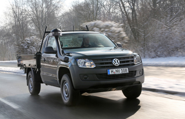 Volkswagen bietet Amarok als Dreiseitenkipper an