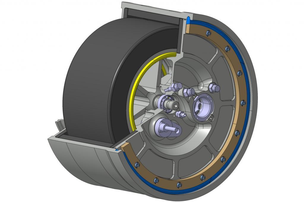 Volvo Schwungrad-Hybrid - Rotation statt Spannung