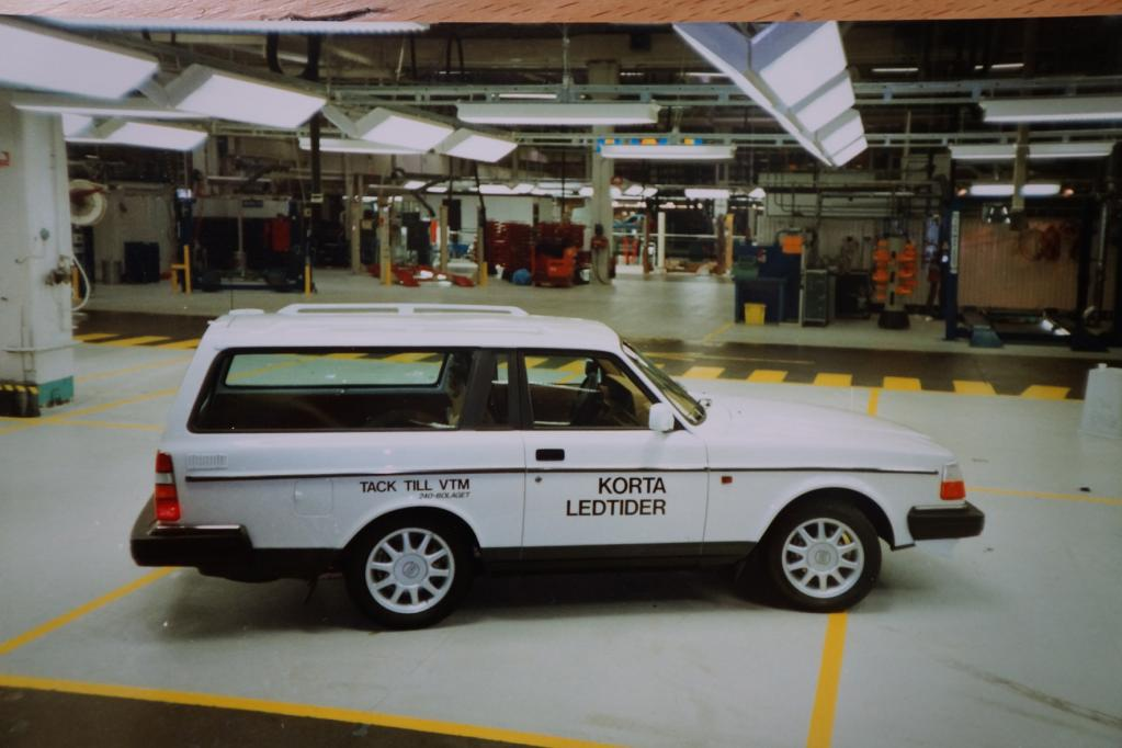 Vor 20 Jahren: Abschied vom Volvo 240