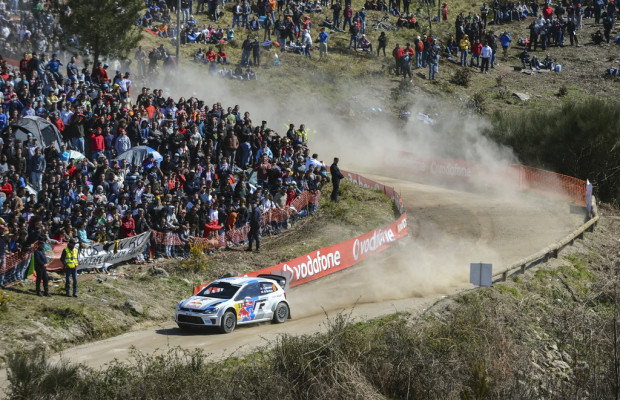 WRC 2013: Drei VW Polo WRC in Portugal