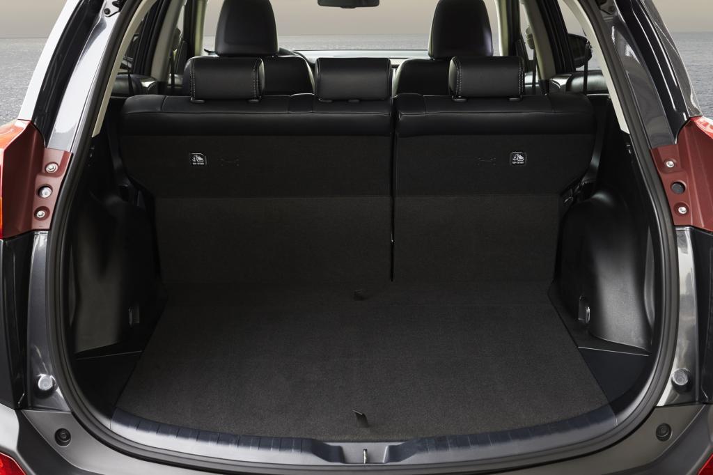 547 Liter Platz im Kofferraum ist eine Bestmarke