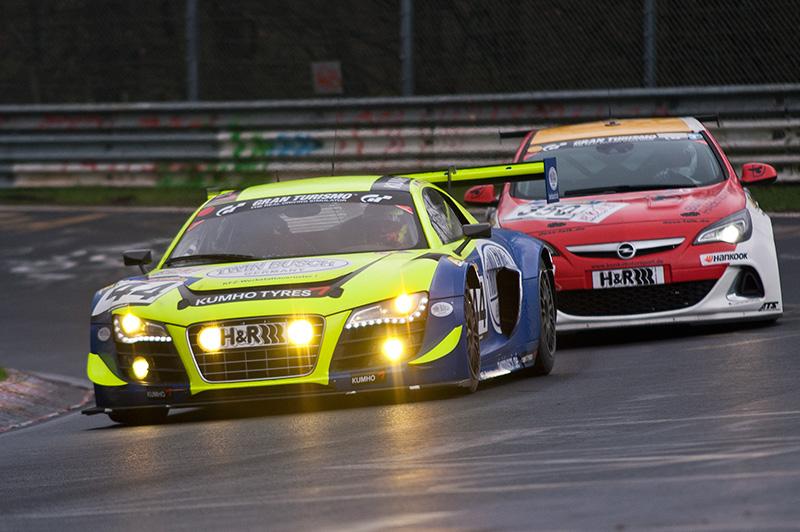 55. ADAC ACAS H&R-Cup – Turbulente Rennaction: Audi siegt vor BMW und Porsche