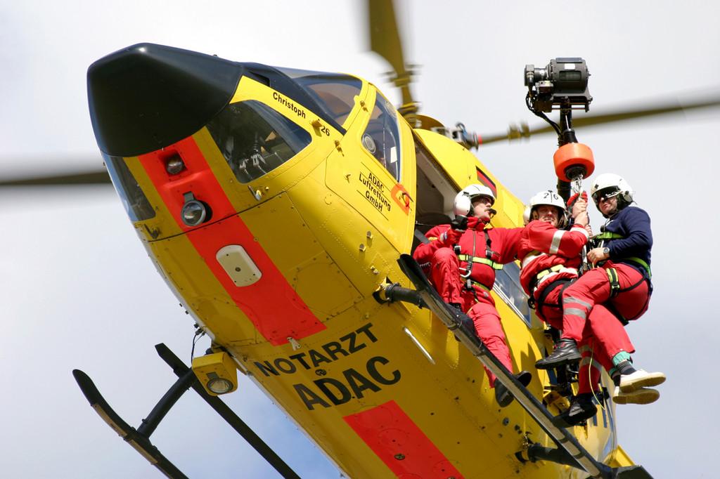 ADAC-Luftrettung verbucht über 200 Windeneinsätze
