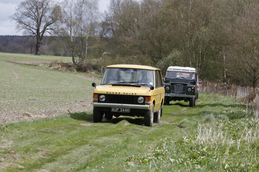 Als der erste Land Rover präsentiert wurde, hatten die Briten vor allem ihre Bauern im Sinn