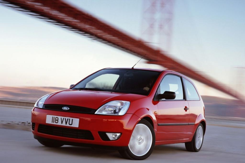 Auch beim von 2001 bis 2008 gebauten Fiesta, haben die TÜV-Prüfer wenig zu meckern