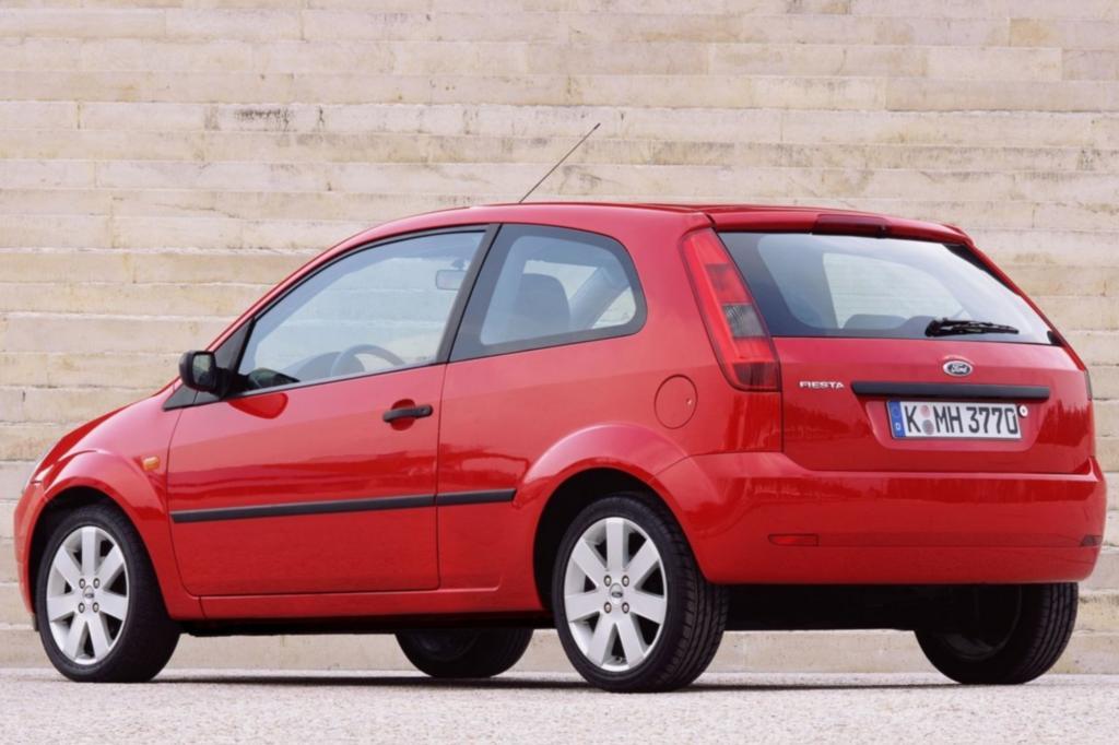 Auch beim von 2001 bis 2008 gebauten Fiesta haben die TÜV-Prüfer wenig zu meckern