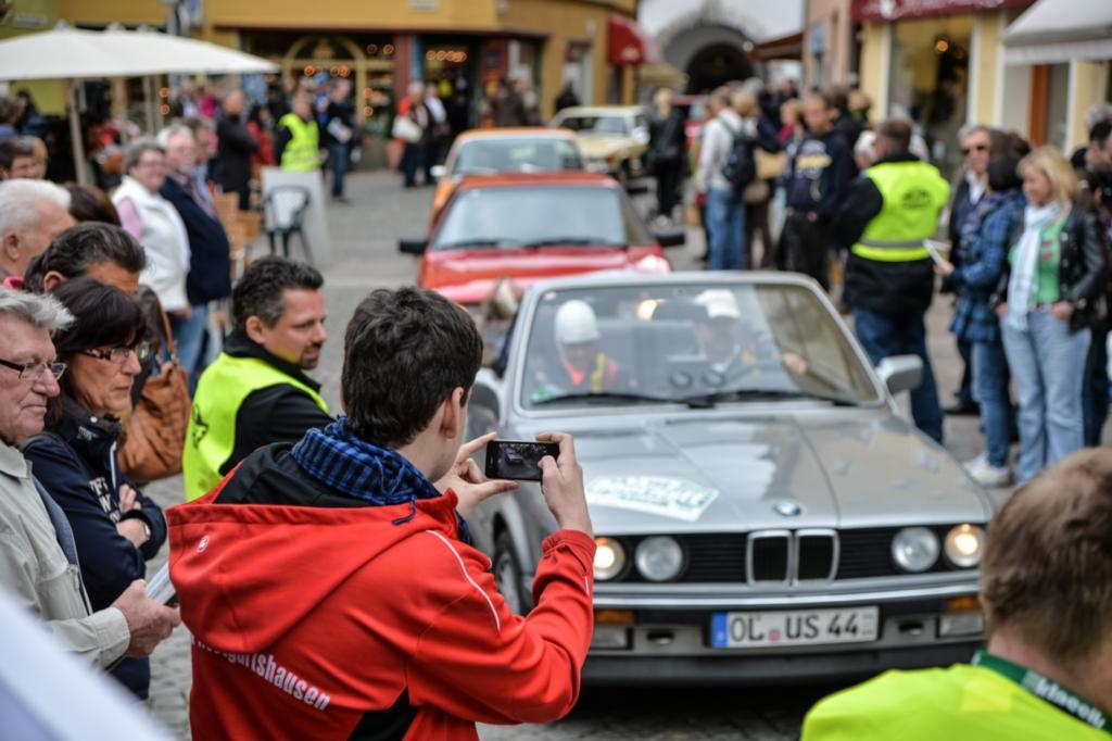 Auch jüngere BMW waren ein beliebtes Fotomotiv
