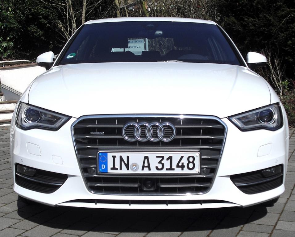Audi A3: Blick auf die Frontpartie.